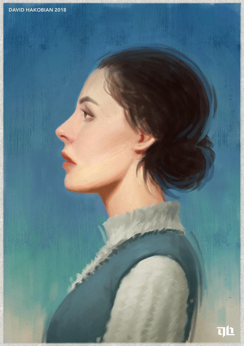 Portrait Sketch 5 by DavidHakobian
