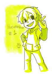 Huevember day 1 Shino by shino-no-tegami08