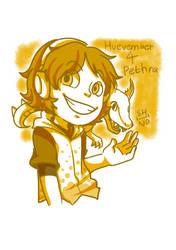 Huevember 4 Pethra by shino-no-tegami08