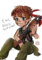 Isol Black Survival by shino-no-tegami08