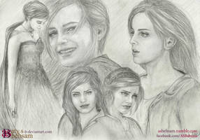 ''Her Name is Anahita'' by Aty-S-Behsam