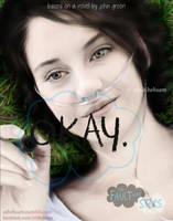 Digital Painting - The Fault in Our Stars Poster 1 by Aty-S-Behsam