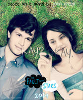 Digital Painting - The Fault in Our Stars Poster by Aty-S-Behsam