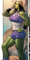 She Hulk by Mastersandy