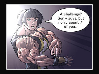 a challenge? by ayanamifan