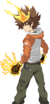 Tsuna from Katekyo Hitman Reborn! by phantomcecco