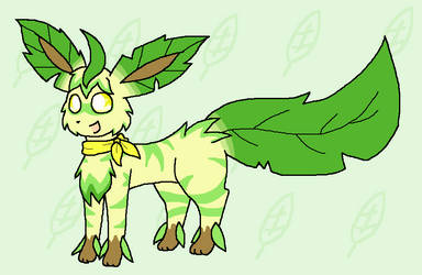 Exotic Leafeon Adopt CLOSED by Kawitekew
