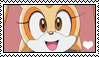 Cream the rabbit stamp by migueruchan