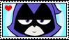 Raven (TTGO!) stamp by migueruchan