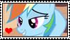 Rainbow Dash stamp by migueruchan