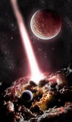 Supermassive Black Hole by Sin-nombre