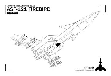 ASF-121 underside lineart by CMG-simplestuff