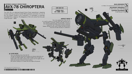 AVX-78 Chiroptera ADF by CMG-simplestuff