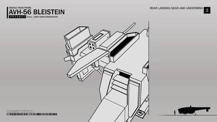 AVH-56 rear landing gear by CMG-simplestuff