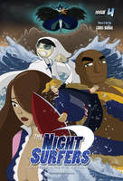 The Night Surfers: Issue 04 Cover by thenightsurfers