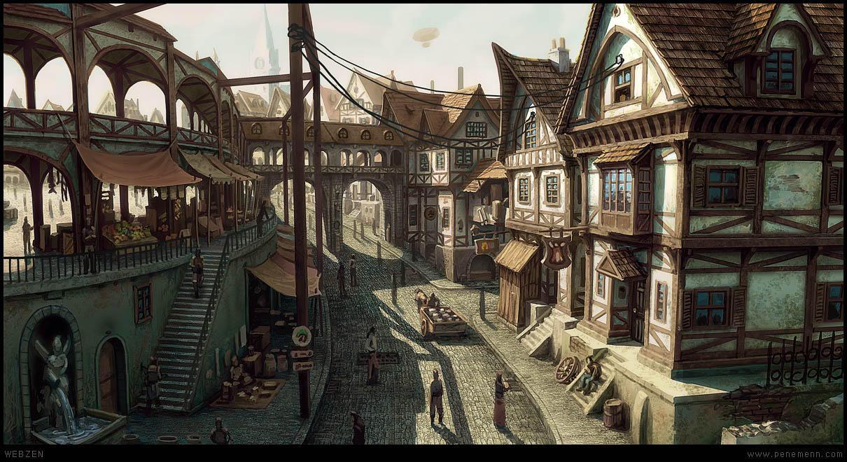Village by penemenn