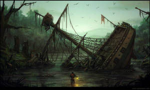 Wasted Ship by penemenn
