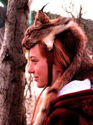 Lynx Skin Headdress by NaturePunk