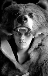 The Brown Bear Headdress by NaturePunk
