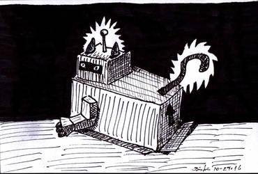 Robocat by UncleGuts