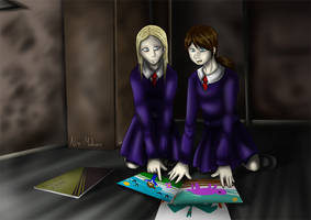 -Claudia and Alessa- by Frandoll-Scarlet
