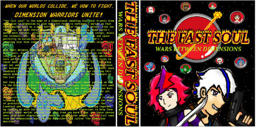 A Book/Case Cover of TFS: Wars Between Dimensions by KambalPinoy