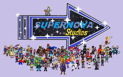 A SUPERNOVA Studios Logo for Ninstation64 by KambalPinoy