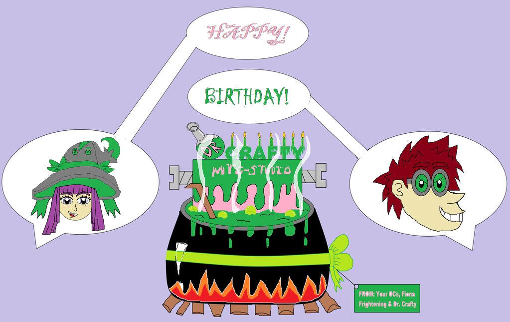 Happy Early Birthday DrCrafty by KambalPinoy