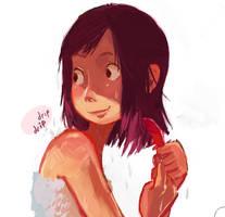 The after bath by YanYu