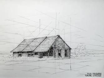 Wooden house by Podkowa97