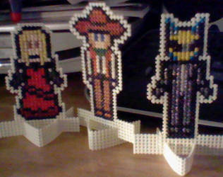 X-Stitch Standee Mini Gift Set by missy-tannenbaum