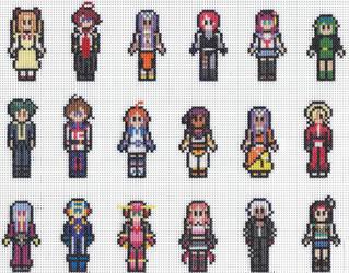 Dork Stitch Sprite Sheet 2 by missy-tannenbaum