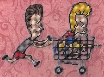 'Heh-heh. This Needlepoint Sucks.' by missy-tannenbaum