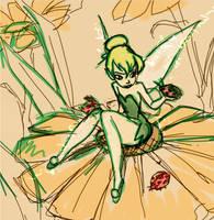 Flowery Sketch by tinkerdanni