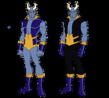 My Dc Reboot Blue Devil by jsenior