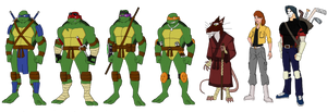 TMNT Heroes by jsenior