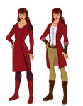 Scarlet Witch Redesigns by jsenior