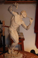 The pied piper by Sculptor-Robert-D