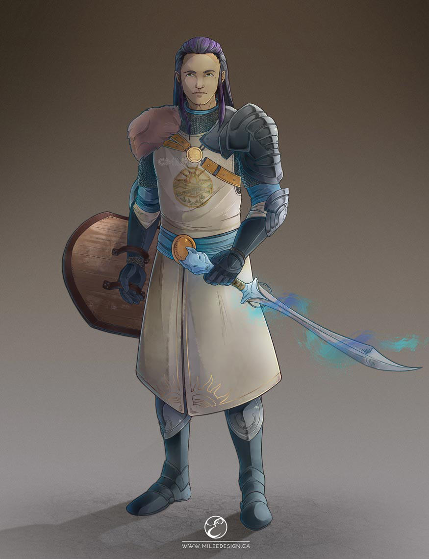 Dungeons and Dragons - Aurion Khan by Milee-Design