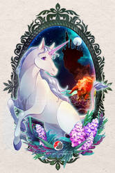 The Last Unicorn by Milee-Design