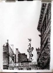 Hidden Satellite Tower by chickenpede