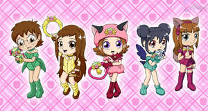 Mew Mew Toddlers by PrincessPolly63