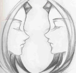 Face to face by Rhies