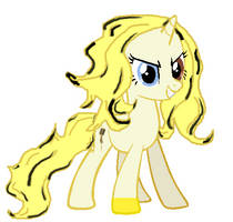MLP OC: Golden Voice by LovelyLeoKika