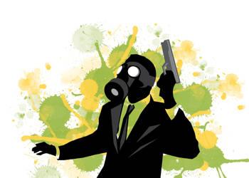Gas Mask by PhoenixRising23