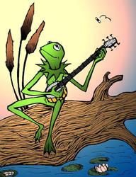 Kermit the Frog by felegund