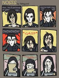 NOSES -a HP comic- by felegund