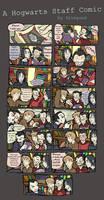 A Hogwarts Staff Comic by felegund