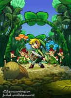 The Legend of Zelda by EttoBascianoWorks