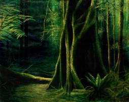 Rainforest Alone by Valnor